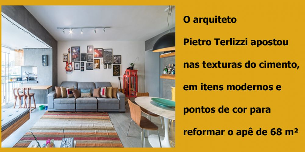 BASE NEUTRA E DÉCOR COLORIDO